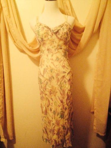Diane Von Furstenberg Caged Back Floral Sundress Size 6