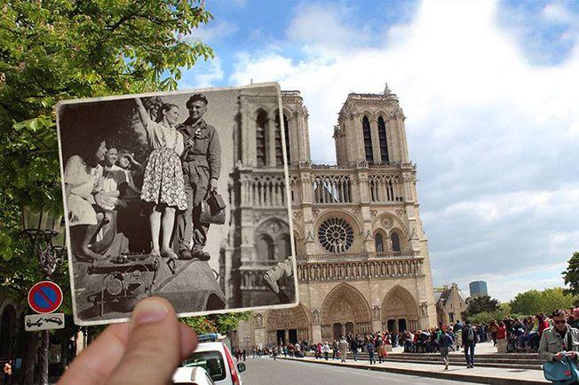 Pedaços do passado na Paris de hoje