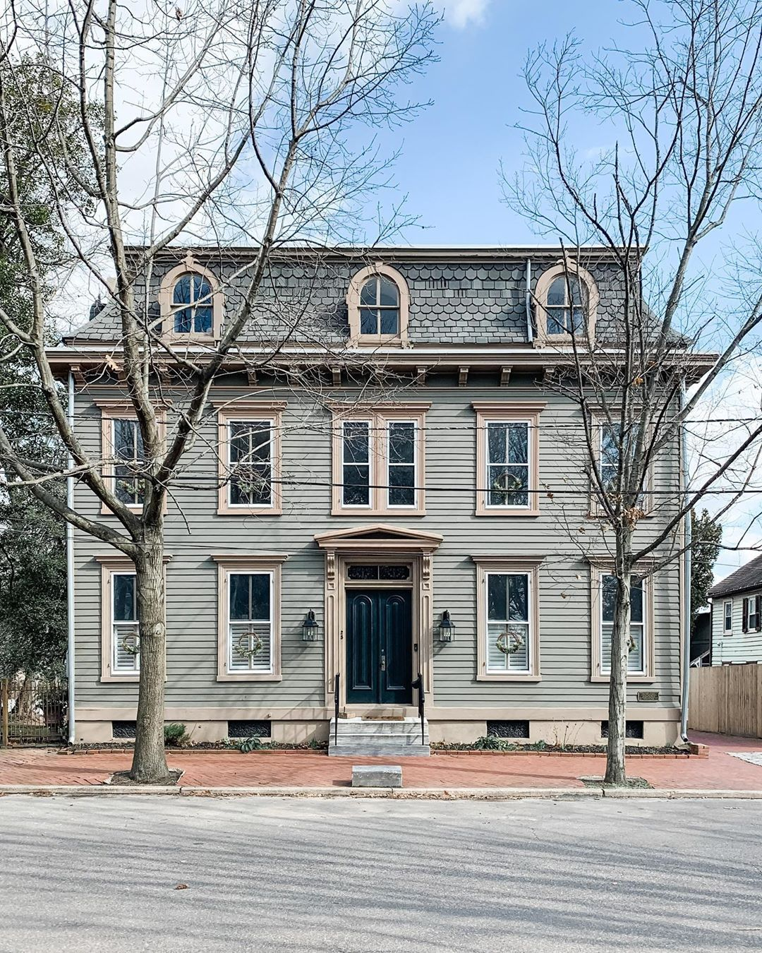 Sayre House On Instagram Swipe To Learn More We Often Nerd Out As We Revel Over The Facade Of Our Home In 2020 House Exterior House Victorian Style Homes