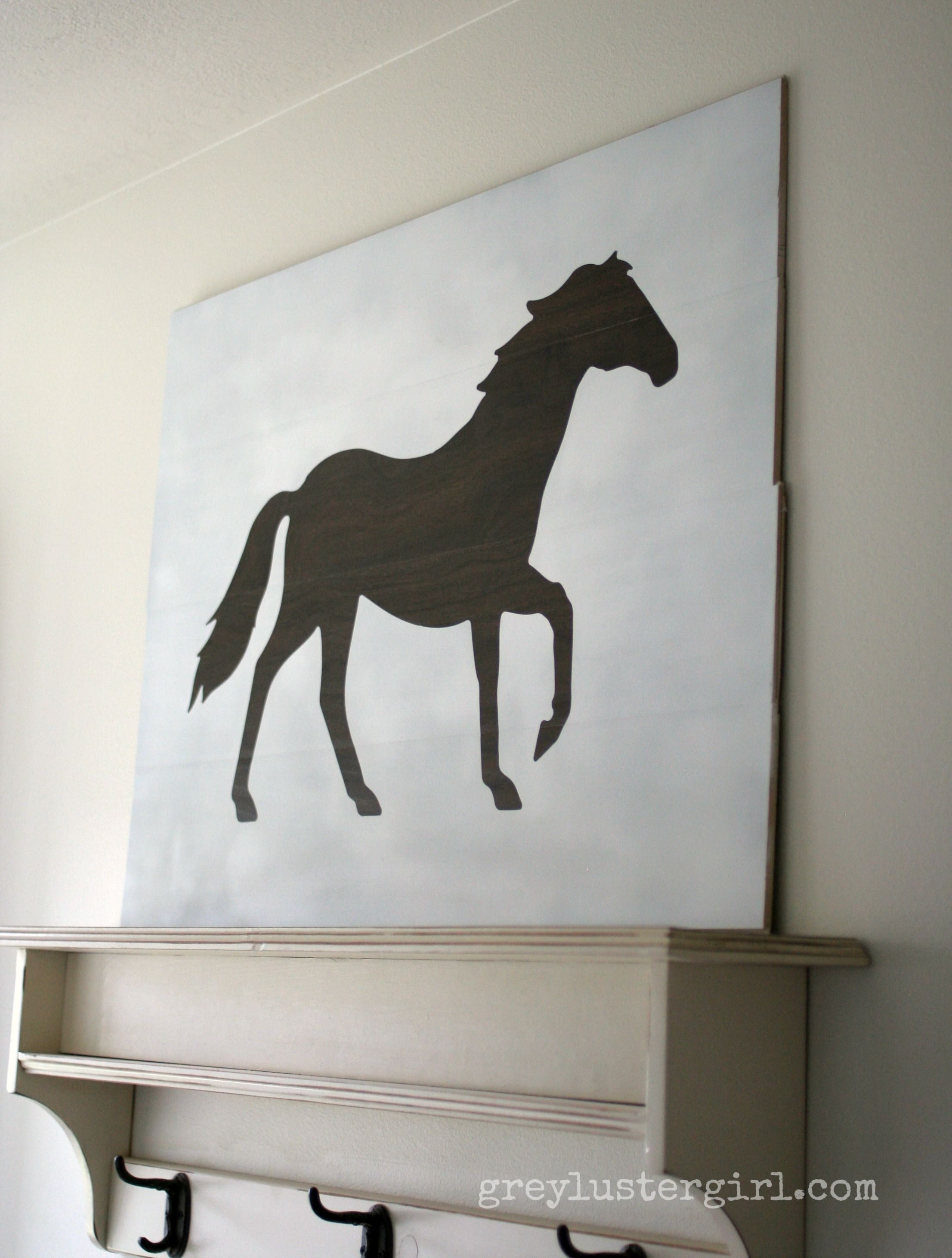 Diy Large Stencil Wall Art Silhouette Cameo Wrought Iron