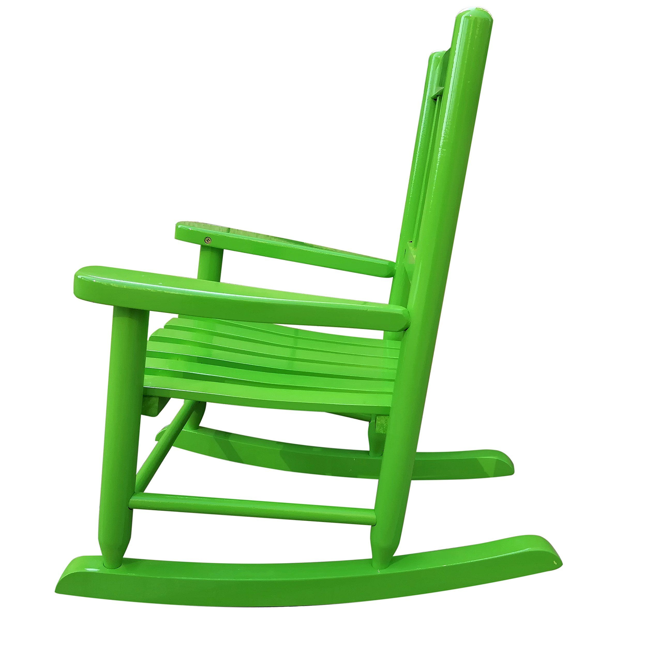 Rockingrocker K031GN Green Child's Rocking Chair/porch