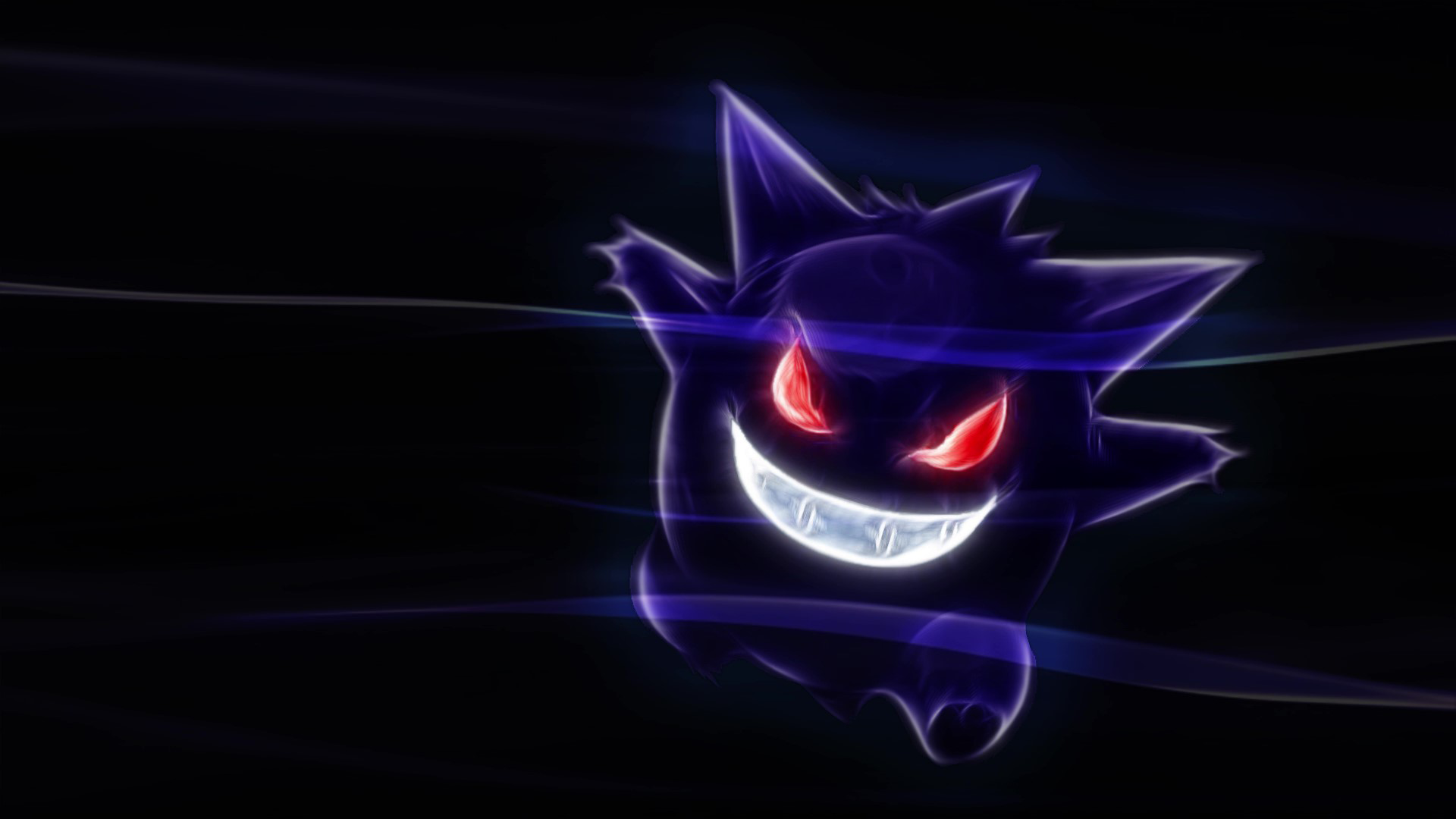 Gengar Live Wallpaper [1920 x 1080] in 2020 Anime
