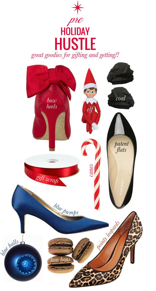 Pre Holiday Hustle Holiday Party Shoes Christmas Fashion Holiday