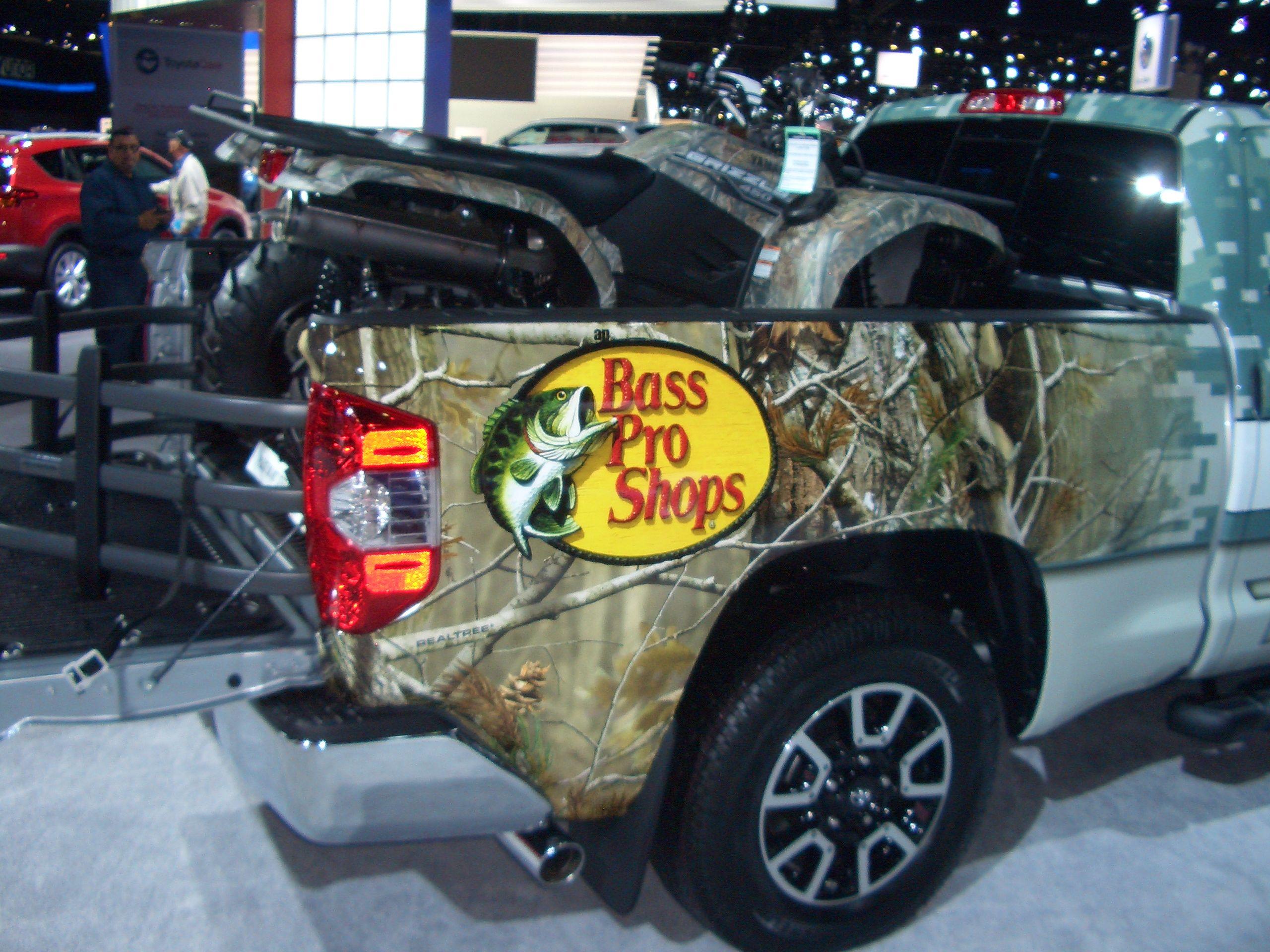 Toyota Tundra With Bass Pro Shops USA Pinterest Toyota Tundra - Bass pro car show