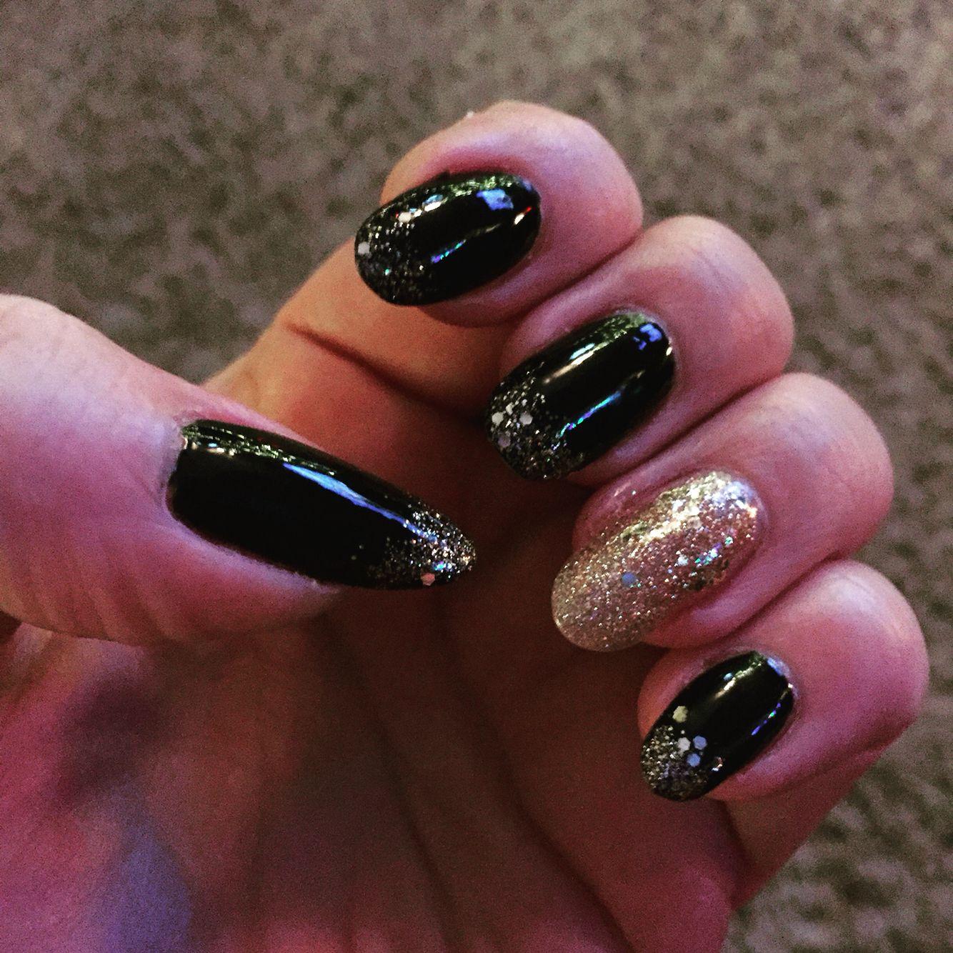 Happy new year nails nail art happy new year