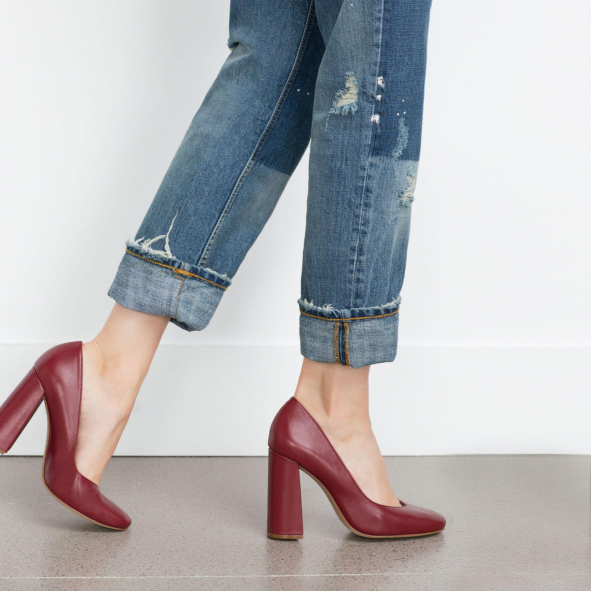 NEW Zara Woman High Heel Cute