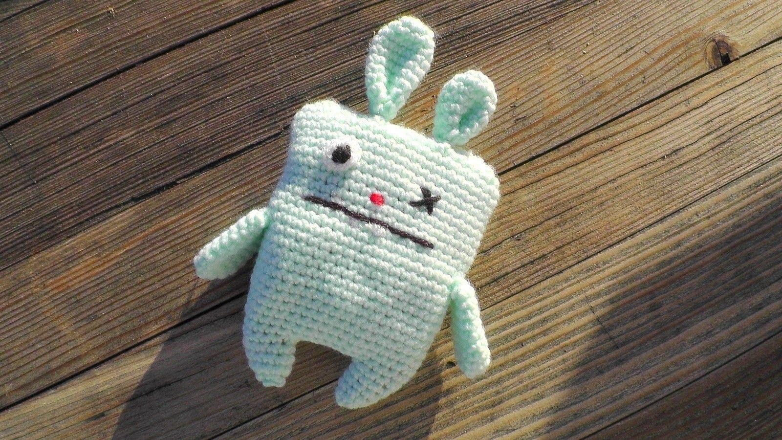 Ugly Bunny Amigurumi Häkelanleitung [Fortgeschrittene] Linkshänder ...
