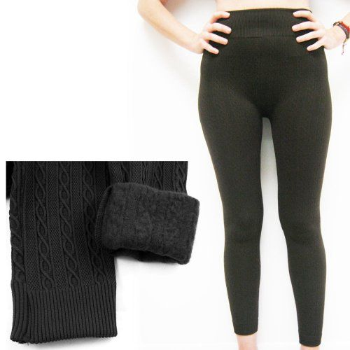 """Ladies Basic Stretch Ankle Length Long Hot Tights Capri Style ! ! Size: One Size Fits Most (S M L XL) Length not stretched: 28"""" Length Stretched: 47""""  Waist not..."""
