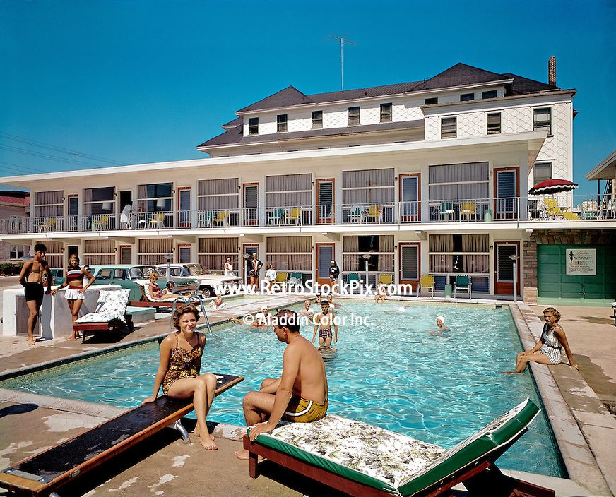 Packard Motel In Wildwood Nj North 1960 S Family