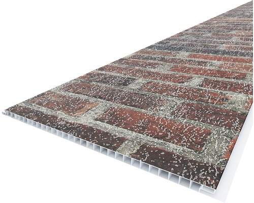 Lambriu Pvc Vox 2650 Mm Red Brick In 2020 Red Bricks Brick Bauhaus