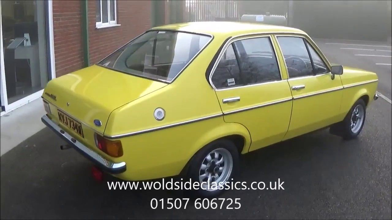 1980 Ford Escort Mk2 GL 1.3 Signal Yellow For Sale in Louth ...