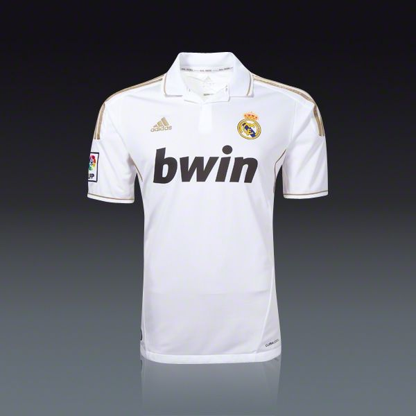 finest selection 69d50 1714b adidas Real Madrid Home Jersey 11/12 | Real madrid <3 ...