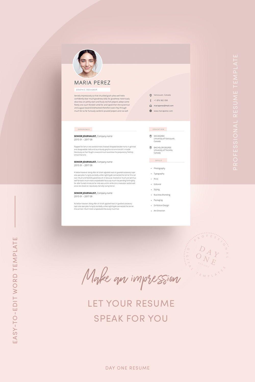 Modern Resume Design Resume Template Word Cv Template Word Cv Design Curriculum Vitae Free Resume Template Teacher Resume With Photo Resume Design Teacher Resume Design Modern Resume Design