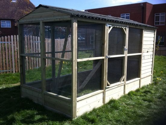 Walk In Chicken House 6x12' chciken coop and run | home remedies & foods i like
