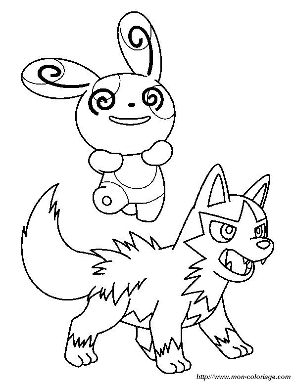 Coloring Pokemon Page Wolf And Friend Pokemon Pokemon Coloring Pages Pokemon Sketch Coloring Pages