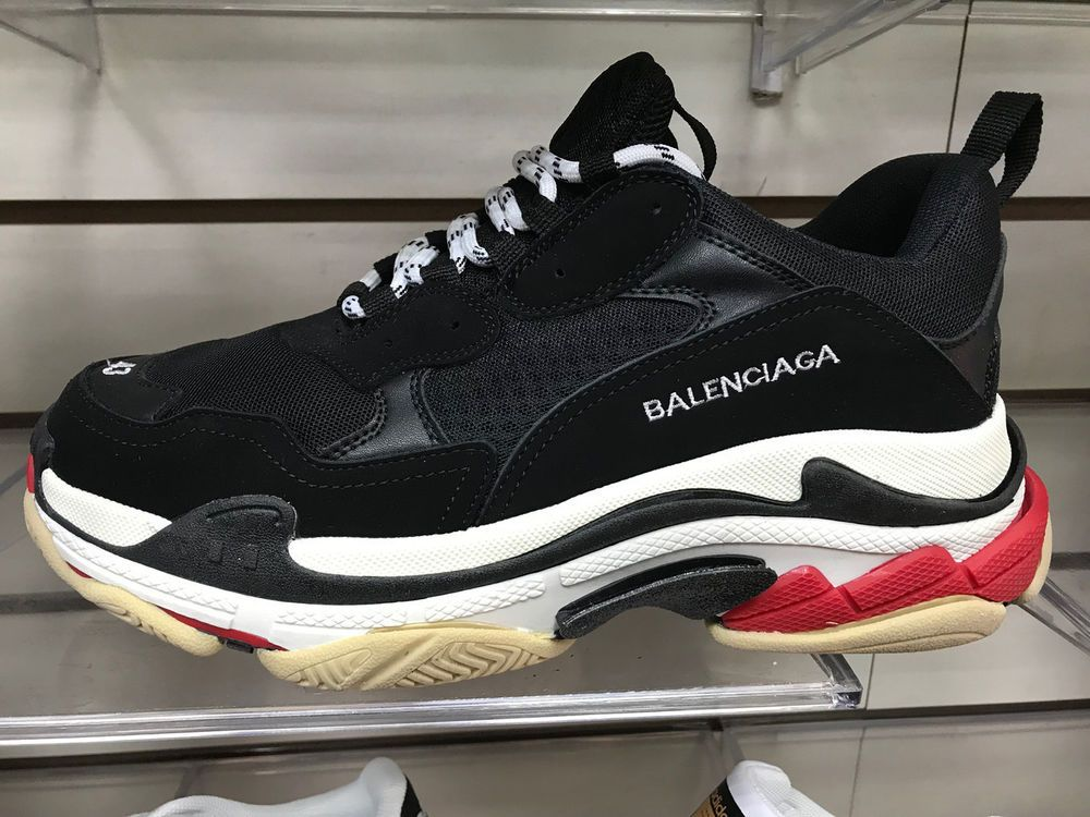679a420d33c0 SNEACKERS BALENCIAGA TRIPLE S BLACK GRAY  fashion  clothing  shoes   accessories  mensshoes  athleticshoes (ebay link)