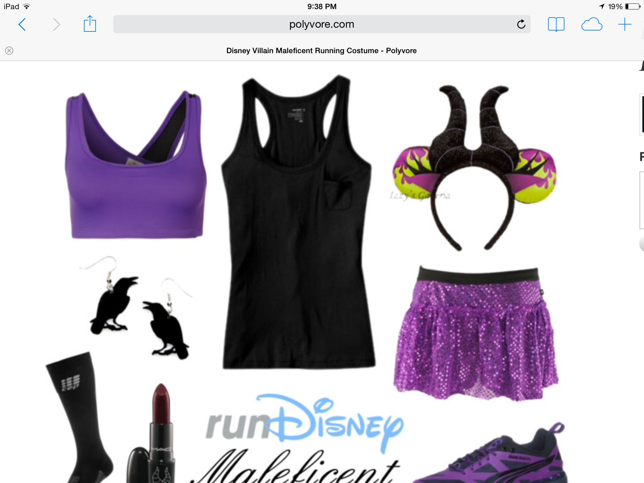 Maleficent Costume Running Costumes Disney Running