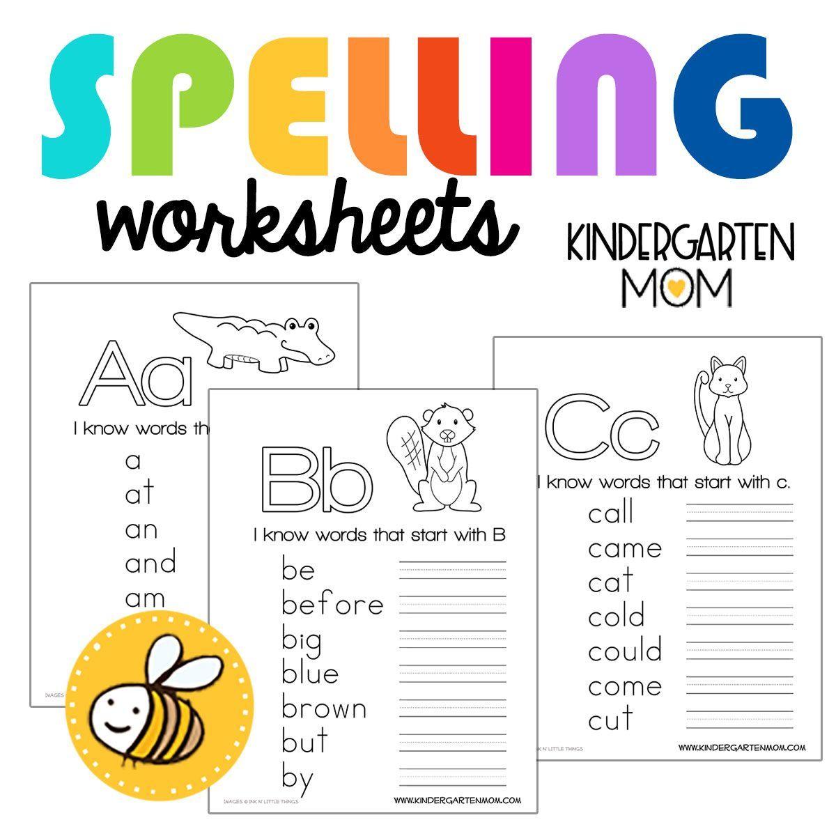 Kindergarten Worksheets Kindergarten Mom Spelling Worksheets Kindergarten Kindergarten Worksheets Kindergarten Phonics Worksheets [ 1200 x 1200 Pixel ]