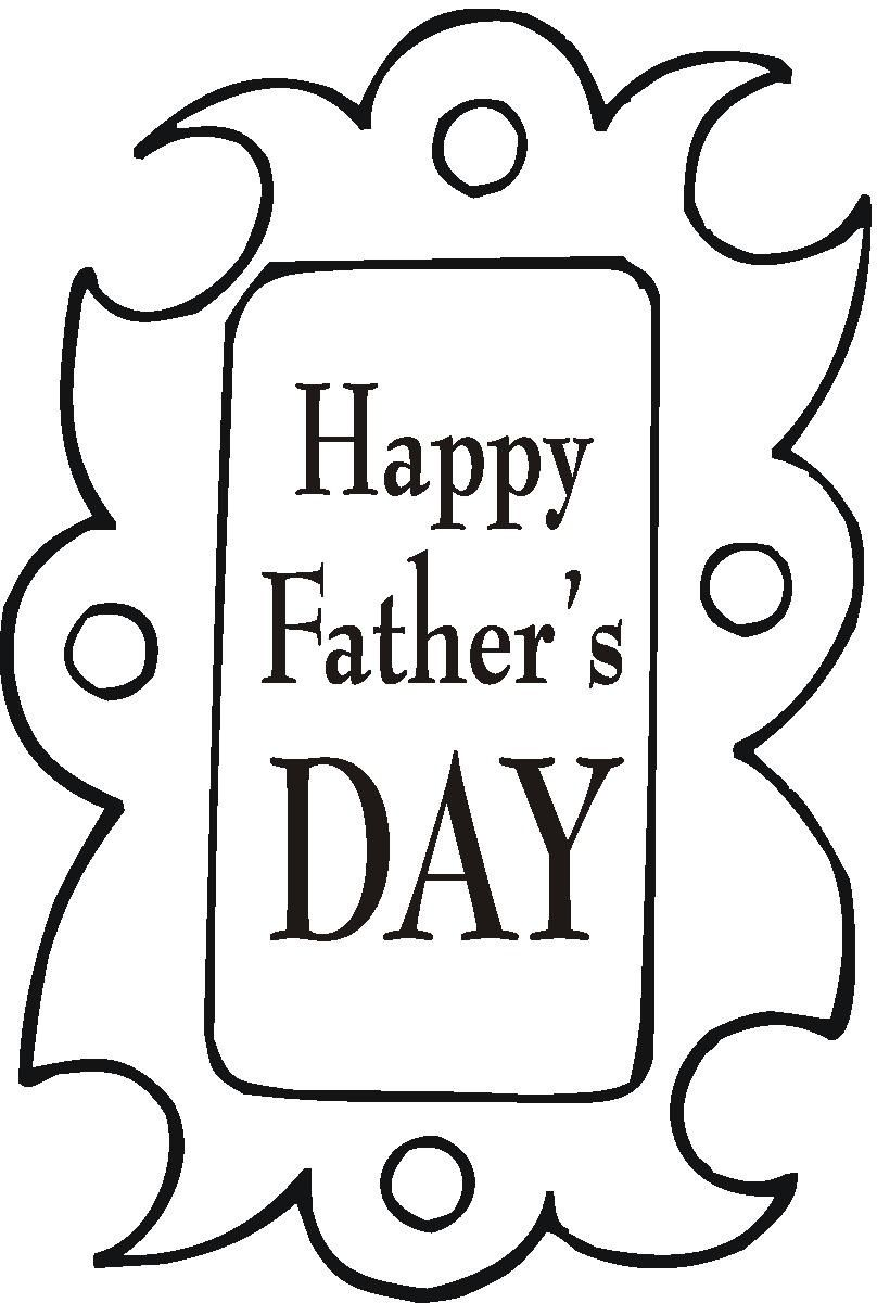 happy fathers day coloring pages Google Search