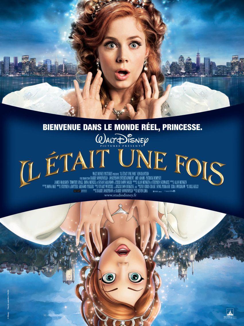 Il était Une Fois Film Disney : était, disney, Enchanted, Kevin, (2007), Enfants,, Films