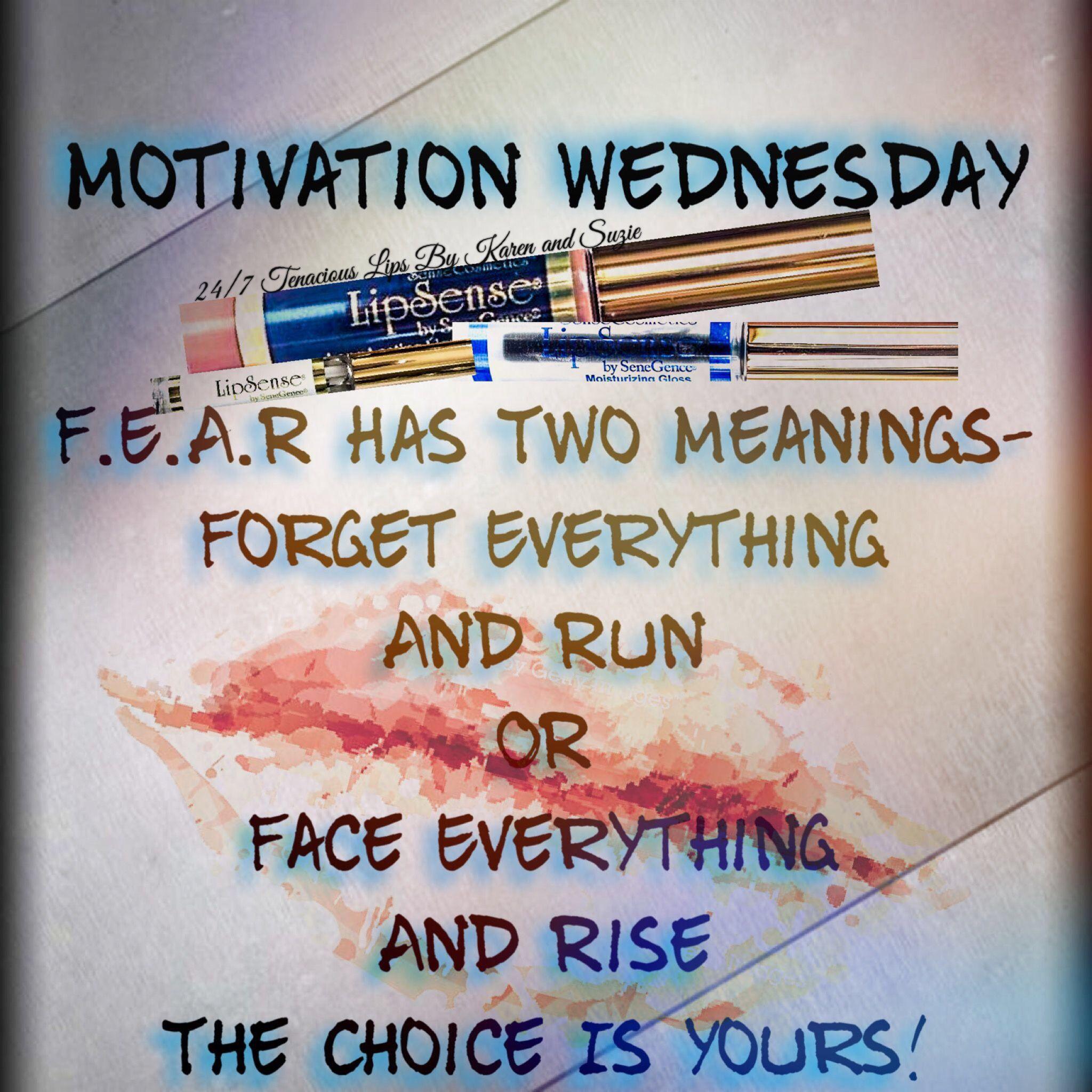 ShadowSense Wednesday Motivation Graphic Distributor ID to