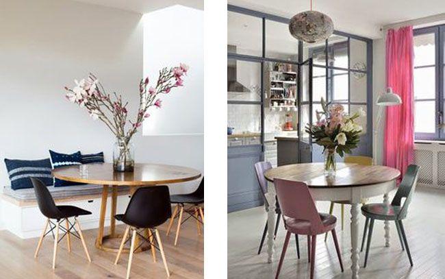 Mesas redondas en el comedor | Estilo Escandinavo | Mesa | Pinterest