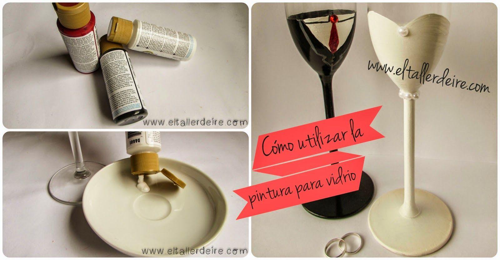 Cómo utilizar la pintura opaca para vidrio o porcelana