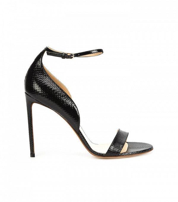 Francesco Russo Ankle Strap Stiletto Sandals