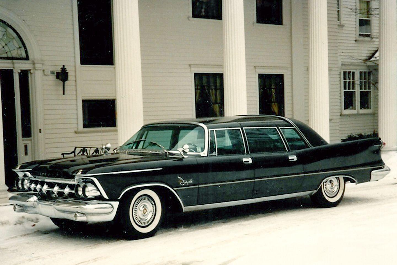 1959 Chrysler Ghia Hemi Limo With Images Chrysler Imperial