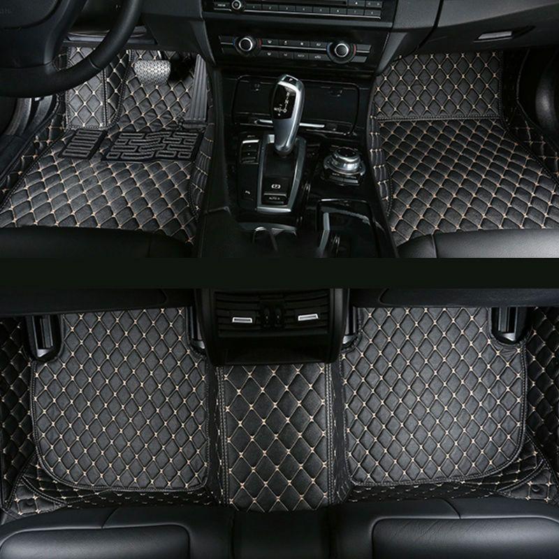 Car floor mats for Skoda Octavia 1 2 a5 a7 Superb 2 3 Yeti