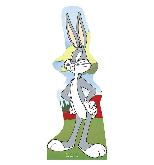 "Opentip.com: Advanced Graphics Bugs Bunny - 68"" x 26"" Cartoon Cutout Standups"