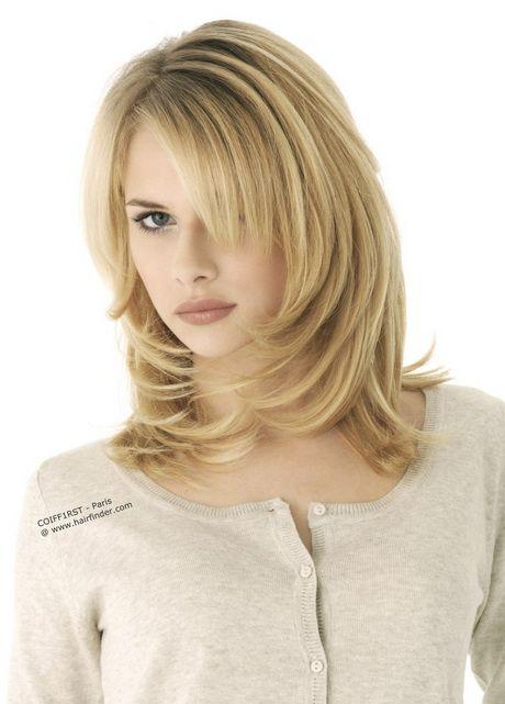 Frisur Mittellanges Haar Gestuft Frisuren Frisuren Halblang
