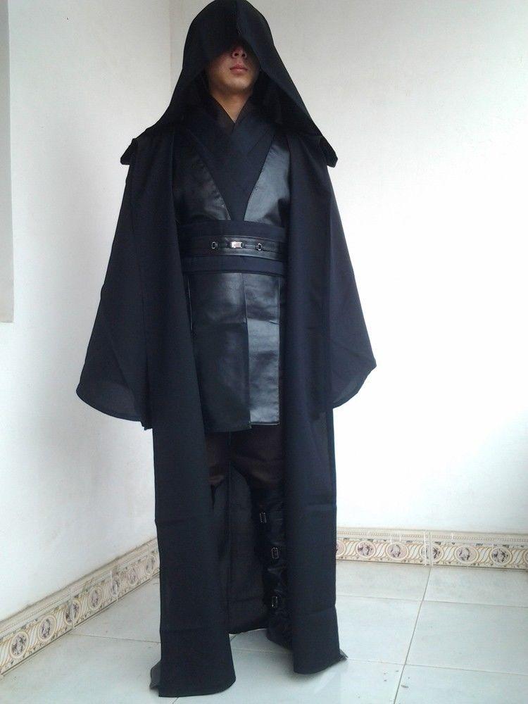 Star Wars Jedi Knight Darth Vader Anakin Skywalker Cosplay Costume-New Arrival