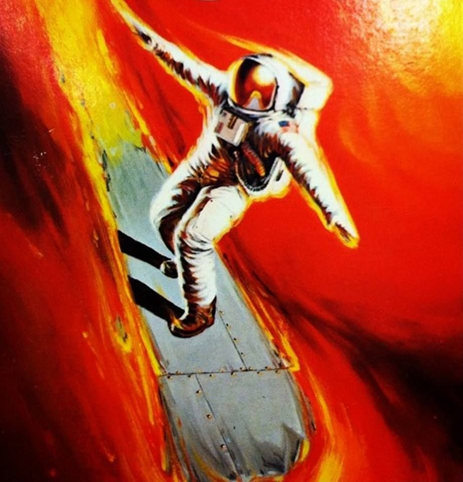 Cover Of The Novelization Of Dark Star By Alan Dean Foster Astronaut Art Science Fiction Art Sci Fi Art