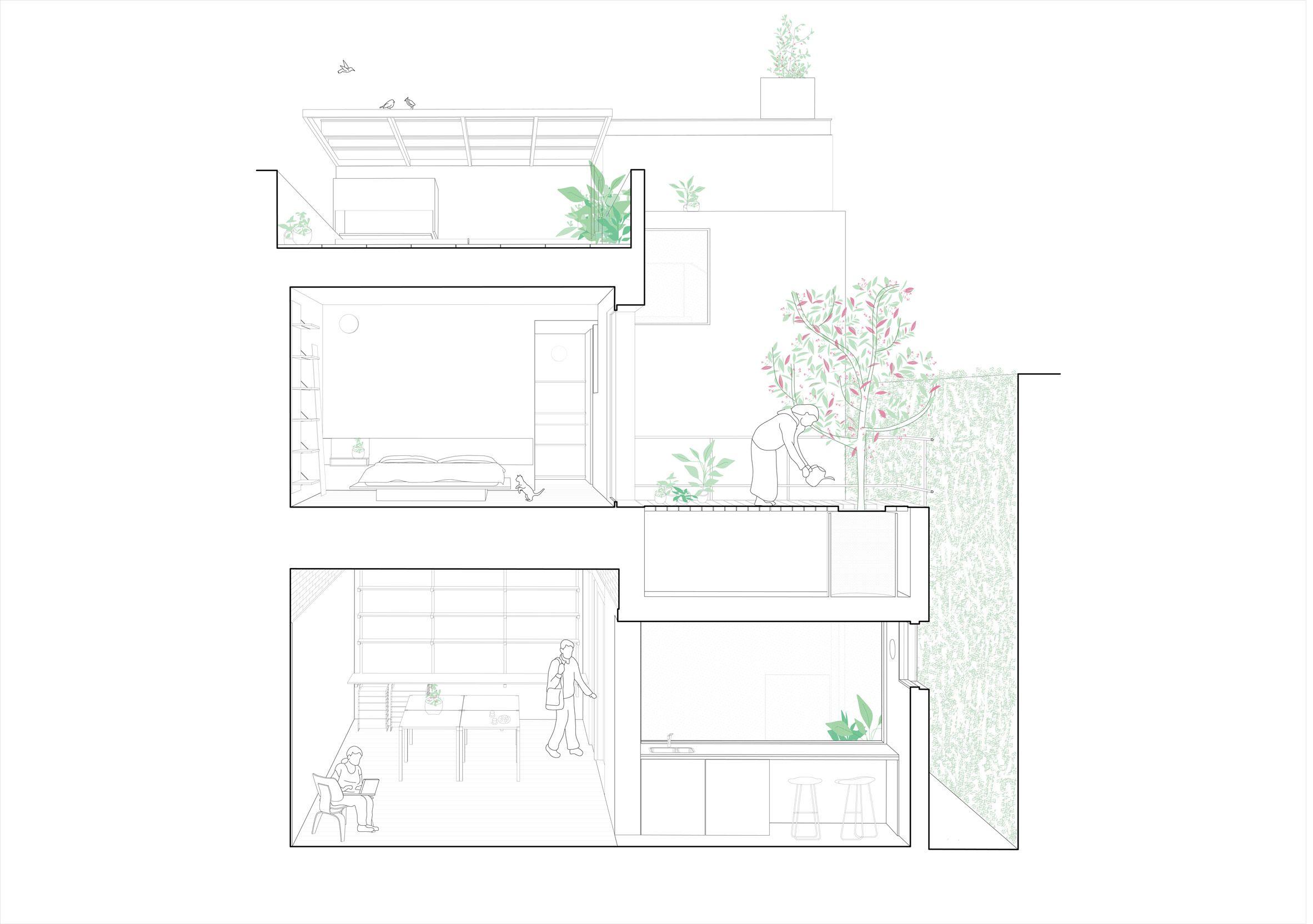 Alonso Amp Crippa Renovates Compact Urban Dwelling In Buenos