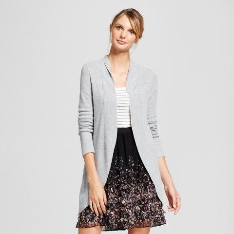 a new day womens cocoon cardigan target clothes outfit thanksgiving christmas christmasoutfit skirt christmaspartyoutfit winter sweater gray