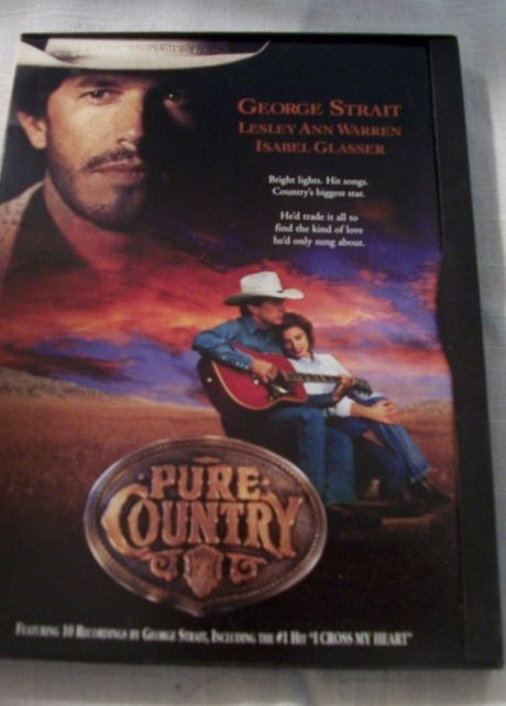 1998 Warner Brothers, Pure Country Drama DVD Movie, Rated PG, Strait, John Doe $7.50