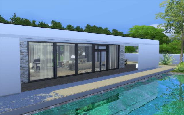 Villa A Telecharger Sims 4 Maison Sims Sims Sims 4 Maison
