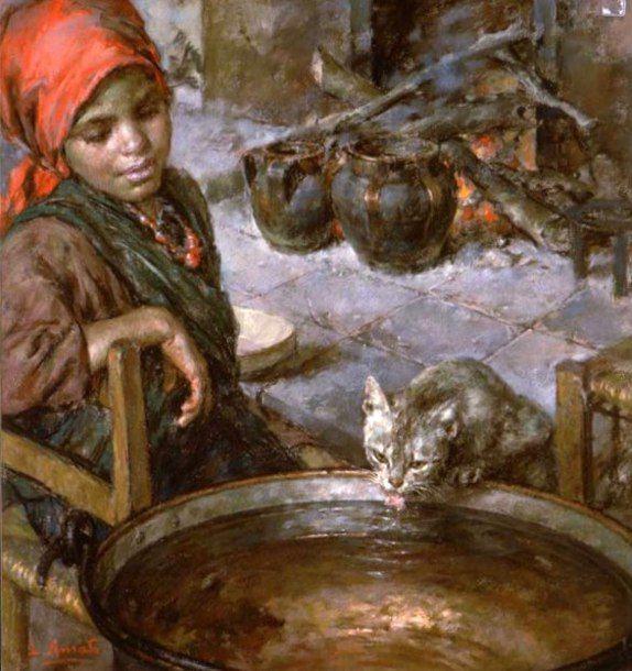 l-amato-bimba-con-gatto-che-beve.jpg 574×610 piksel