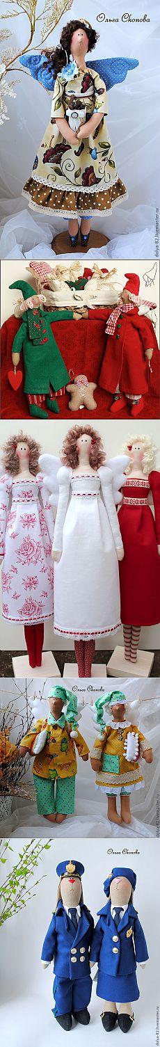 Tilda con la Feria Masterov.Tilda dolls.Idei para la inspiración ♡