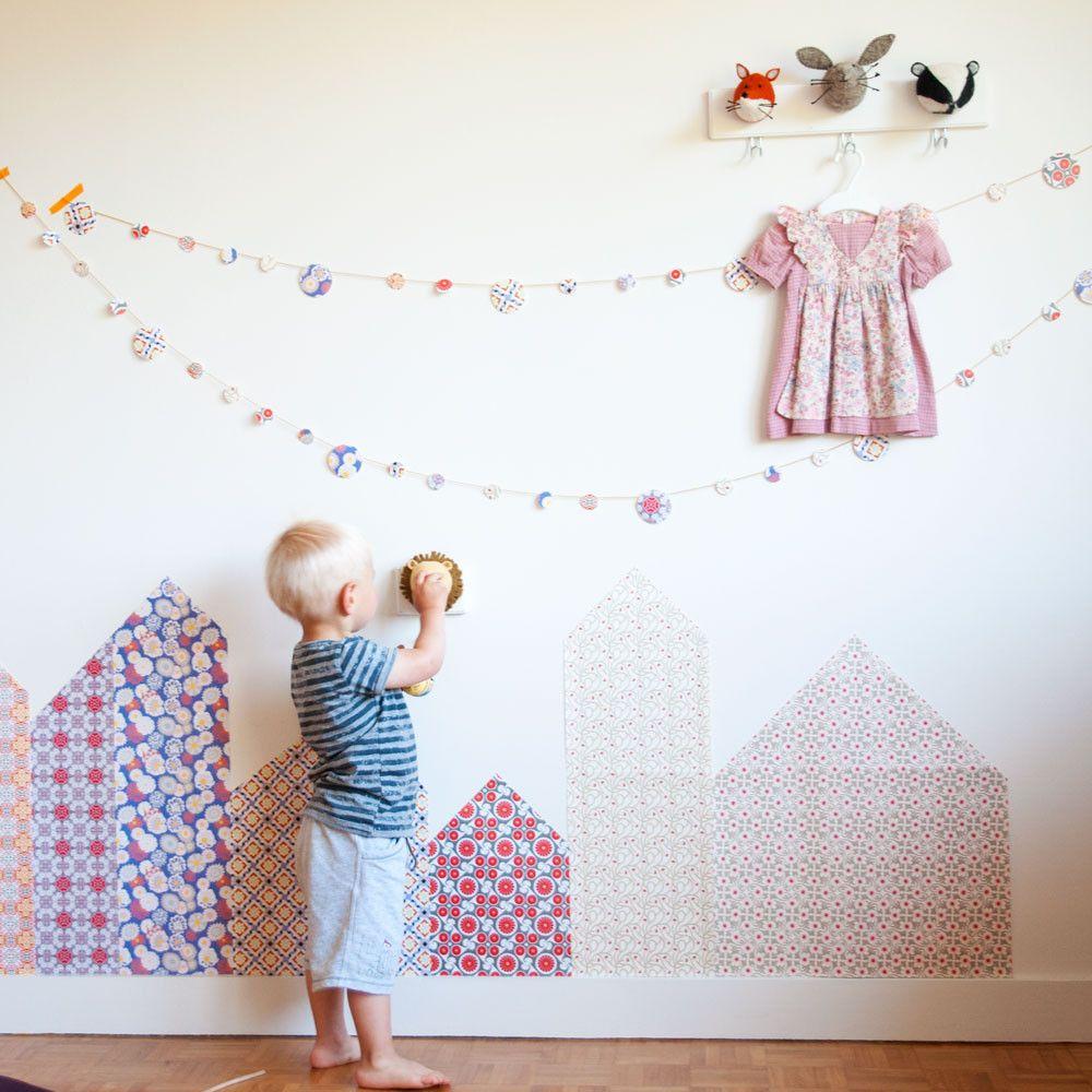 diy d co murale papiers barcelone tout est diy. Black Bedroom Furniture Sets. Home Design Ideas