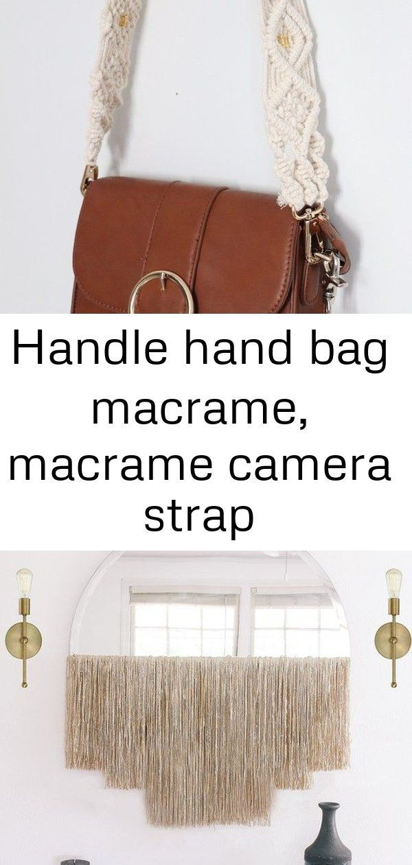 #Bag #caméra #camerapurse #Hand #handle #macr #Macramé #Purse #strap Handle hand bag macrame, macrame camera strap #camerapurse Strap bag purse macrame strap camera macrame macrame bag | Etsy Add Boho Sparkle to Your Space with a DIY Fringed Mirror | Hunker Make a statement in your home with this large and stunning macramé wall hanging. Created from 4mm light ivory rope and hung from a gold arrow, this beautiful piece is full of detail and layers. This item is made to order and will var... #camerapurse