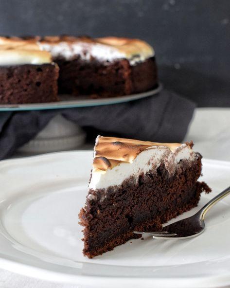 Photo of Schokoladen-Baiser-Kuchen – Kochstübchen