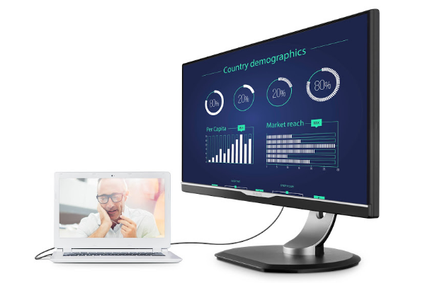 MMD presenta il primo monitor Philips con connettività USB Type C  #follower #daynews - http://www.keyforweb.it/philips-qhd-258b6queb-la-connettivita-usb-type-c-sbarca-sui-monitor/