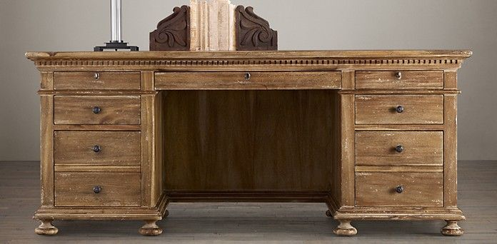 RH's Office Collections:Each magnificent piece of Restoration Hardware's  home office furniture collection is built - RH's Office Collections:Each Magnificent Piece Of Restoration