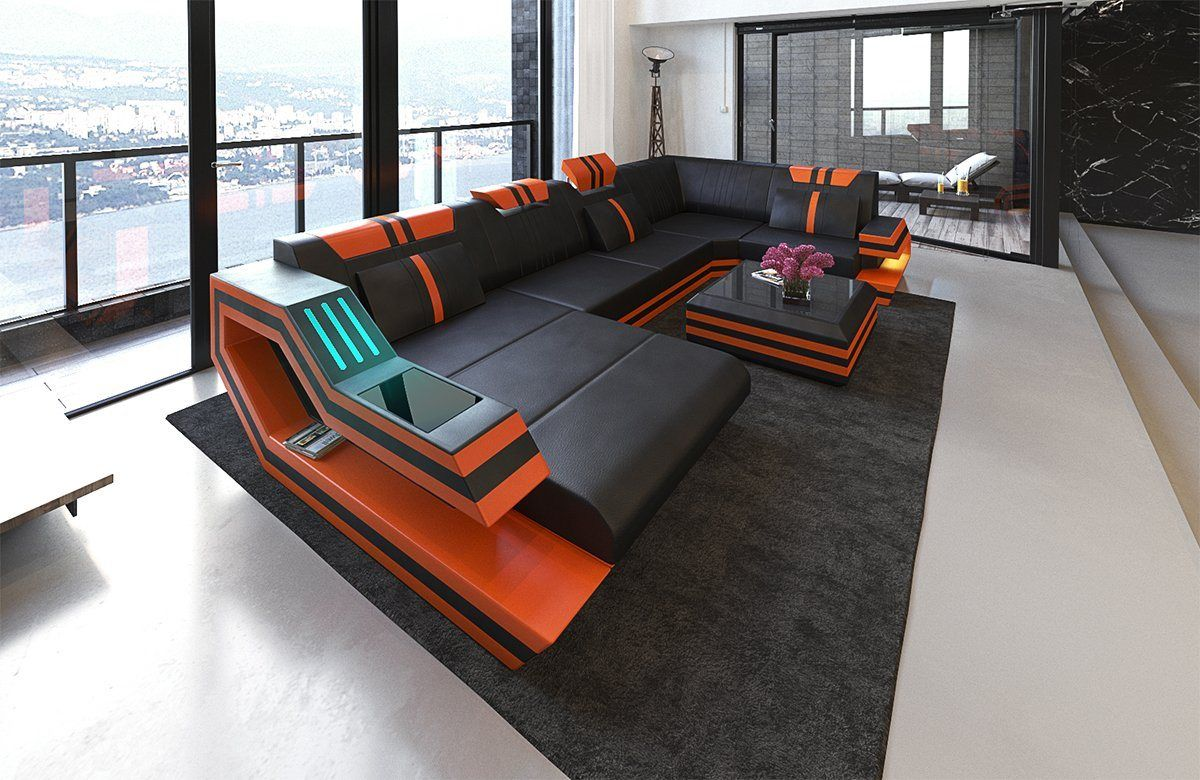 Wohnlandschaft Ravenna U Form In 2020 Sofa Design Sofa
