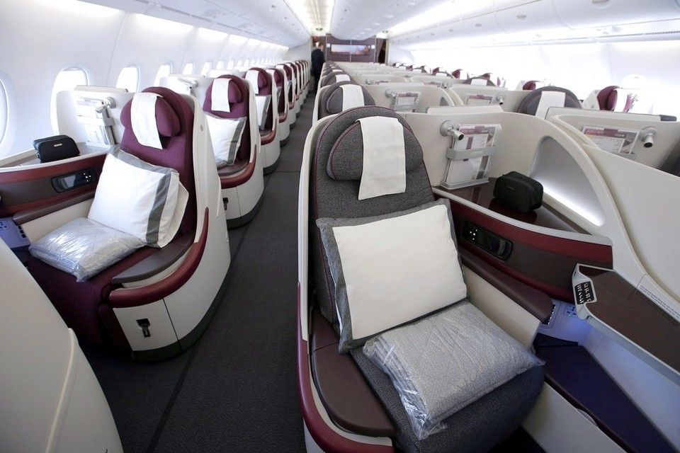 Qatar Airways Business Class Review Technical Issues On Abu Dhabi To Atlanta Flight