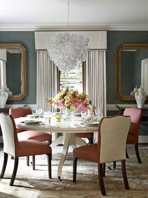 A 1940s Suburban Update House beautiful, Formal dining rooms and Room