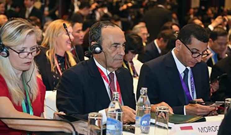الحبيب المالكي يطالب بمنح المغرب وضع عضو ملاحظ داخل الجمعية البرلمانية لرابطة دول جنوب شرق آسيا Talk Show Scenes Talk