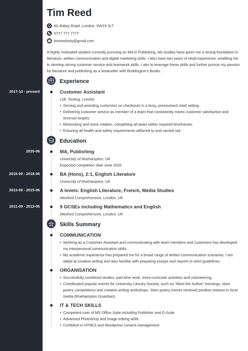 12++ When do student loans resume uk Resume Examples